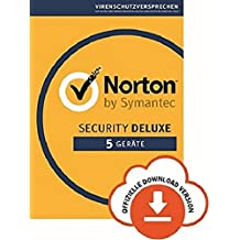 Norton Security Deluxe | 5 Geräte| PC/Mac/iOS/Android | Abonnement mit Amazon