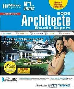 Architecte studio expert 2006 logiciels for Architecte 3d amazon