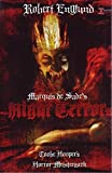 Tobe Hooper - Living Nightmare MARQUIS DE SADE´s NIGHT TERRORs Uncut X-Rated Kultfilme DVD große Hartbox