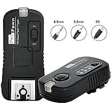 Pixel TF-3652,4gHz inalámbrico disparador de flash del obturador de control remoto de disparador para Sony mi interfaz para zapata cámaras DSLR