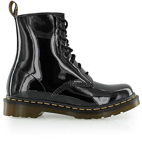 Dr. Martens 8 Eye Boot Patent Lamper Bottines 41, black
