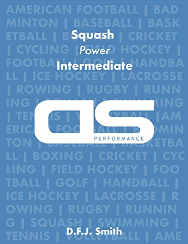 DS Performance - Strength & Conditioning Training Program for Squash, Power, Intermediate (English Edition)