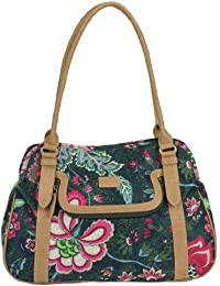 Oilily Paisley Flower M Carry All Green