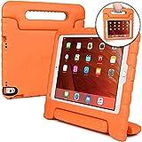 Apple iPad Pro 9.7 / iPad Air 2 Hülle, [2-in-1 Griffige Tragehülle & Stand] COOPER DYNAMO Robuste Strapazierfähige Sturz- und Kindersichere Hülle + Stand & Displayschutz -Jungs Mädchen Erwachsene Ältere Orange