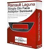 Renault Laguna stéréo Adaptateur de façade d'autoradio CD PaNNEAU DE GARNITURE DE CADRE DE PLAQUE