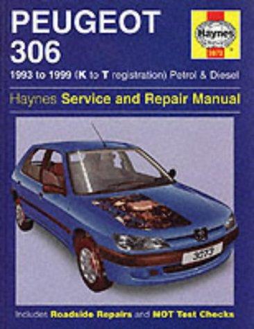 Peugeot 306 Service and Repair Manual (93-99) (Haynes Service and Repair Manuals) por Steve Rendle