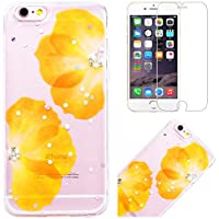CE-Link iPhone 6 / iPhone 6s Hülle Transparent Weiche Silikon Glitzer Handyhülle Durchsichtig 3D Diamant Schutzhülle... preisvergleich bei billige-tabletten.eu