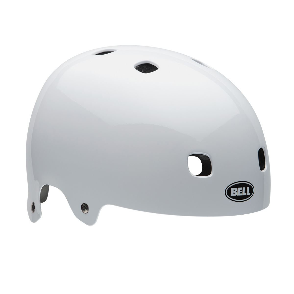Bell Segment Jr. BMX-Fahrradhelm - white, Größe:S 51-55cm