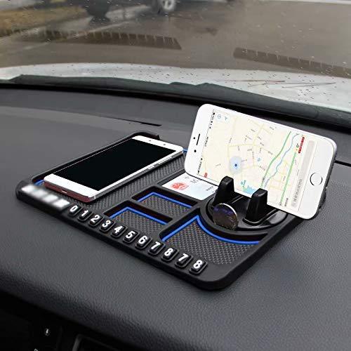 ZTMN Armaturenbretthalterung für Autotelefone - Premium-Version, Halterung für Autotelefone für alle Fahrzeuge, GPS für Mobiltelefone 363 Gps