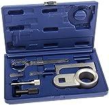 A-VAG2425 Motor Einstell Werkzeug Satz für VW 7-tlg. T4 Crafter LT 2.4 D 2.5 TDI AAB AJA BJJ BJK BJL BJM Nockenwellenlineal Zahnriemen Nockenwelle Kurbelwelle Arretierung Fixierung Fixierwerkzeug Arretierwerkzeuge
