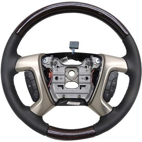 GMC, 2013-14, ACADIA, DENALI, ebano, pelle, &, sterzo, legno, ruote, per assemblaggio, 22818078 General Motors