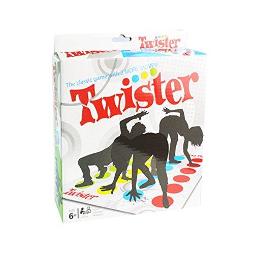 ABBY Parent-enfant jeux interactifs Twister Jeu de Société Jeu d'Action et de Réflexe Table de jeu Props extérieur gens du parti