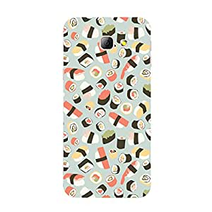 Back cover for Samsung Galaxy A7 2016 Sushi Pattern