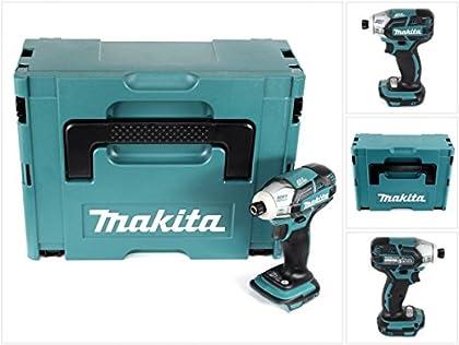 Makita DTS 141ZJ 18V Brushless atornilladora Impuls (solo en Makpac, base de 2con bolsa–sin batería sin cargador