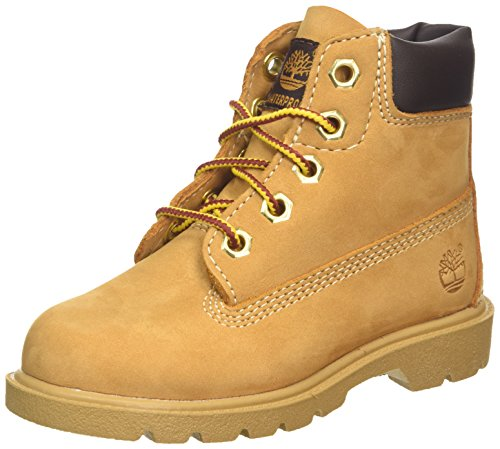 Timberland - 6 In Classic Boot Ftc_6 In Classic Boot, Stivaletti infantile, Marrone (Braun (YELLOW)), 37.5