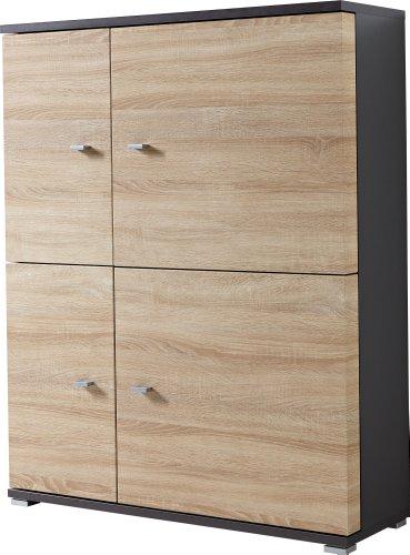 Germania 2191-161 Stand- und Hängeelement Escala, 98 x 125 x 37 cm