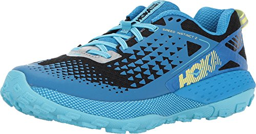 Hoko One One Women's Speed Instinct 2 Running Shoe Blue Aster/Black 6 B(M) US