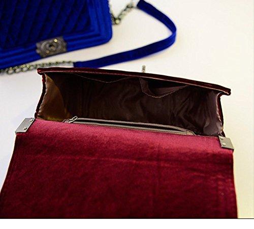 Eysee, Borsa a tracolla donna vinaccia rosso Dark purple 20cm*16cm*16cm Vino rosso