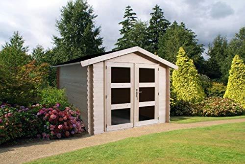 Gartenhaus mit Dachpappe und Boden | 270 x 210 - 5