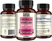 Forskolin Extract for Weight Loss. Pure Forskolin Diet Pills & Belly Buster Supplement. Premium Appetite S