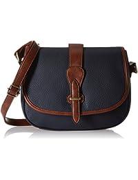 Lino Perros Women's Handbag (Blue) - B01M2WCEC0
