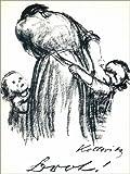 Posterlounge Leinwandbild 100 x 130 cm: Brot von Käthe Kollwitz - fertiges Wandbild, Bild auf Keilrahmen, Fertigbild auf Echter Leinwand, Leinwanddruck