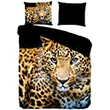 PURE Juego De Funda Nórdica Leopard Negro/Leopardo size is not in selection ES