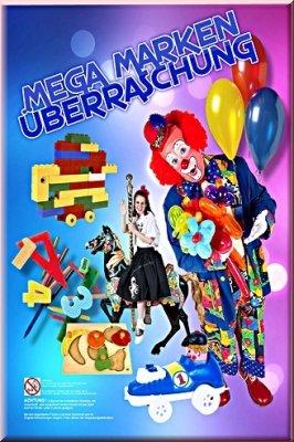 Preisvergleich Produktbild 1 Stück MÄDCHEN MEGA MARKEN ÜBERRASCHUNGSTÜTE / WUNDERTÜTE mit 8 Marken Teilen !!! Super Spaß für Geburtstage und/oder zum Verschenken und Überraschen!