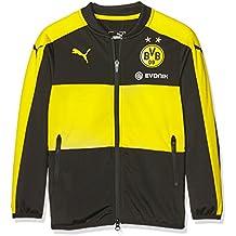 b4fa6c0179 Puma Kinder Jacke BVB Poly Jacket with Sponsor Logo