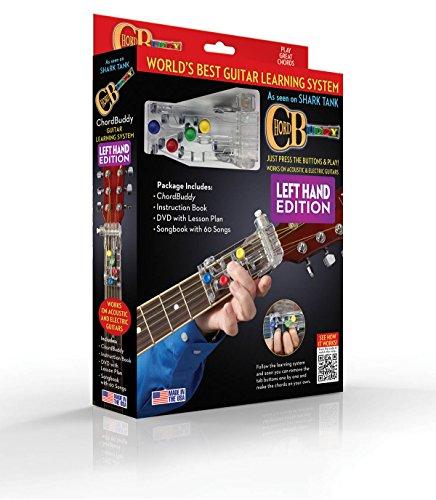 chordbuddy para zurdos guitarra sistema de aprendizaje
