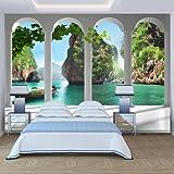 murando – Papier peint intissé – 350x256 - Papier peint – Trompe l oeil - Tableaux muraux – Déco – XXL nature 10110903-13