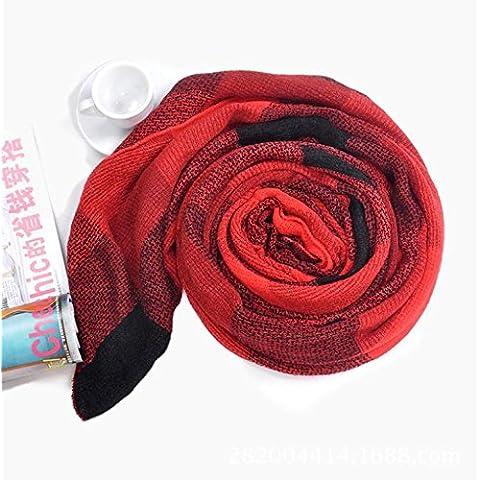 Foulard da donna caldo cachemire sciarpa ispessimento , 4