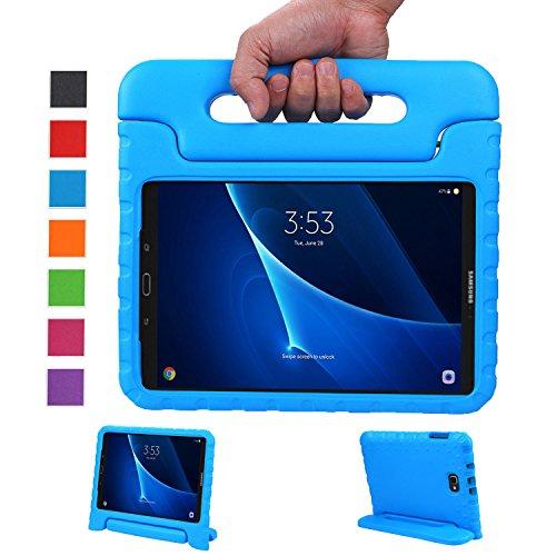 LEADSTAR Samsung Galaxy Tab A 10.1 (2016) Ligero y Super Protective Antichoque EVA Funda Diseñar Especialmente para los Niños para Samsung Tab A 10.1 T580N / T585N - Azul