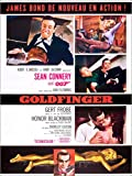 Poster 100 x 130 cm: Goldfinger, Sean Connery von Everett Collection - Hochwertiger Kunstdruck, Neues Kunstposter