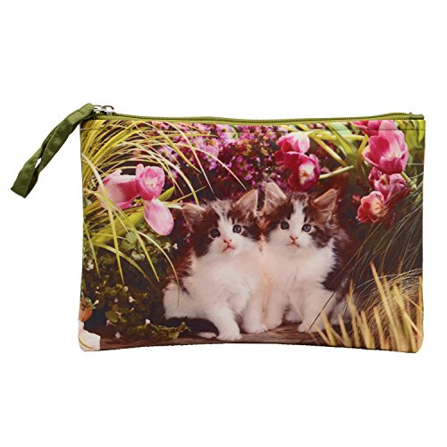 Bagaholics Multipurpose Clutch Pencil Pouch Travel wallet Makeup Kit Toilet Handbag Organizer Medicine Bag  available at amazon for Rs.250