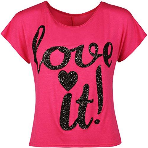 Fashion & Freedom Damen T-Shirt Rose