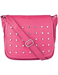 SAHAL Pu  Pink  Stylish Sling Bag For Women