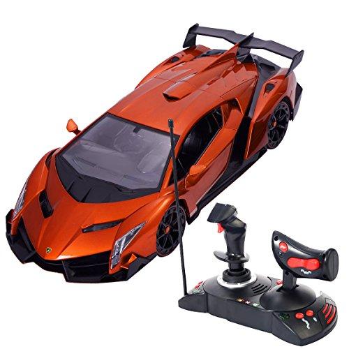 goplus-lamborghini-veneno-114-r-c-modellauto-ferngesteuertes-auto-lizenz-modell-orange
