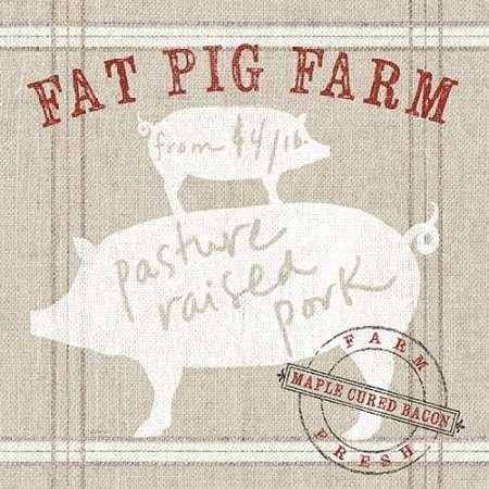 La Fromagerie A La Ferme - Farm linen pig par Schlabach, Sue -