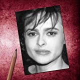 Seasons HELENA BONHAM CARTER - ACEO Sketch Card (Signed by the Artist) #js001