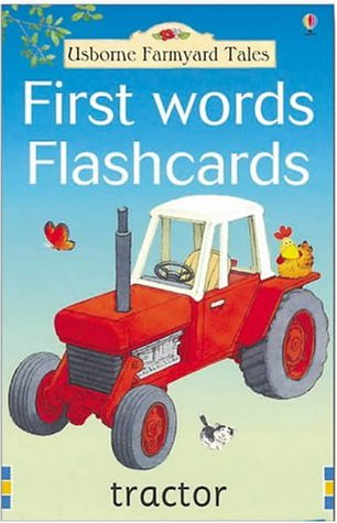 Farmyard Tales First Words - Ds Flashcard