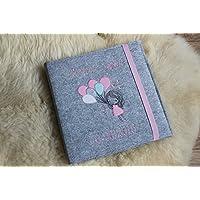 Album, Fotoalbum, Babyalbum, personalisiert, mit Filzumschlag, mit Filzeinband, mit Wunschnamen, Wunschname