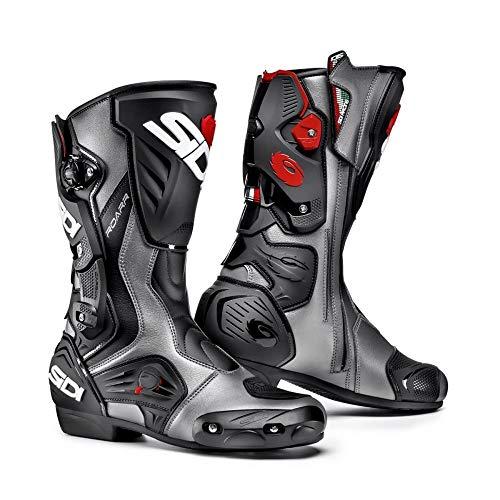 SIDI Roarr Sport e Moto Racing Stivali, Nero/Antracit