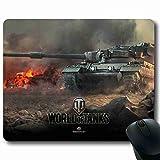 Enchanting Mauspad World of Tanks Spiel Unterstützung Wired Wireless-Maus geeignet für Herren