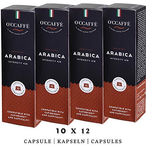 O'ccaffè Café Arabica   Tchibo Cafissimo kompatible Kapseln   fein und vollmundiger Kaffee   120 Stück