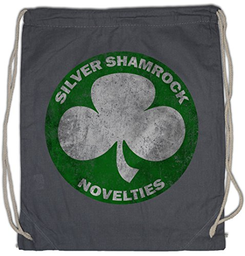 Urban Backwoods Silver Shamrock Novelties Turnbeutel Sporttasche (Silver Shamrock Halloween)