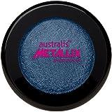 Australis Metallix Eyeshadow, Blink 18-Blue, 1.9g