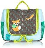 Lässig Mini Washbag Kulturtasche/Waschbeutel zum Hängen, Little Tree Fox
