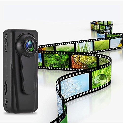 Kungfu Mall F1 HD 1080P Mini Kamera Vlog Kamera Polizei Kamera Security Guard Recorder tragbare Körperkamera (Polizei-kamera)