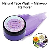 Lavenza Cleansing Wash, Natural Facewash + Makeup Remover (2 in 1), Lavender Oil